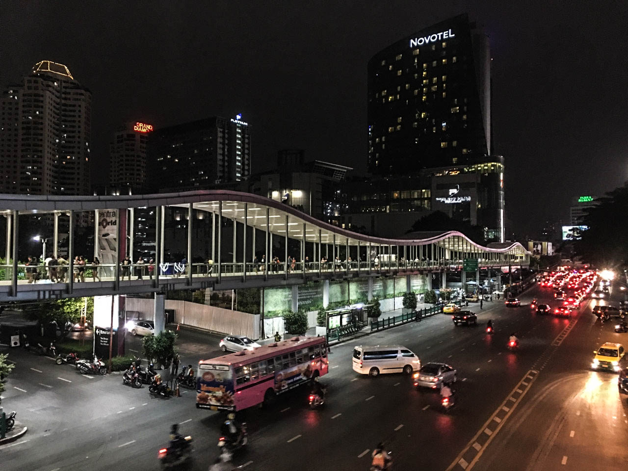 bangkok night street